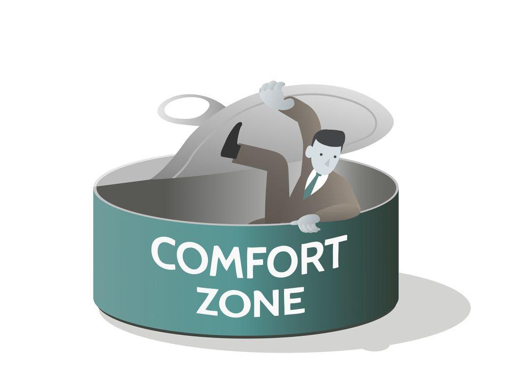 Sortir de sa zone de confort !